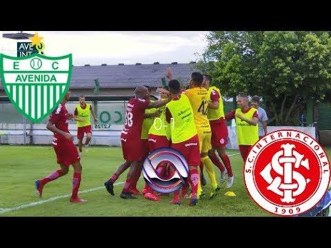 Gol - Avenida 0 x 1 Inter - Gauchão 2019 - RBS TV HD