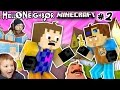 MINECRAFT HELLO NEIGHBOR & HIS BROTHER FIGHT 4 Basement Key FGTEEV Scary Roleplay Games for Kids #2