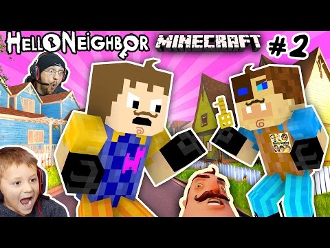 Thumbnail: MINECRAFT HELLO NEIGHBOR & HIS BROTHER FIGHT 4 Basement Key |FGTEEV Scary Roleplay Games for Kids #2