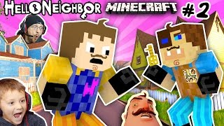 MINECRAFT HELLO NEIGHBOR HIS BROTHER FIGHT 4 Basement Key FGTEEV Scary Roleplay Games for Kids 2