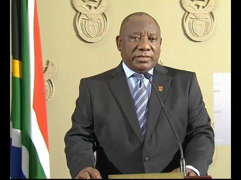 President Ramaphosa addresses the Nation on the Public Violence