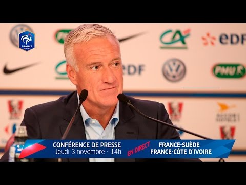 Conférence de Deschamps : le replay