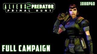 Aliens versus Predator 2: Primal Hunt (2002) - Full Campaign 1080p60 HD Walkthrough - Corporate