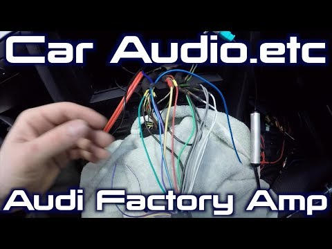 Audi A6 1997-2004 SONY Car Stereo Radio Steering Wheel Stalk Control Interface