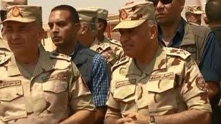 أخبار مصر: الفريق أول صدقي صبحي يتفقد قوات التدخل السريع