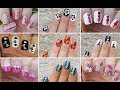 NAIL ART COMPILATION #6 - Ideas For Dry MARBLE NAILS / Life World Women