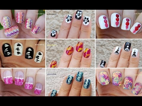 Download NAIL ART COMPILATION #6 - Ideas For Dry MARBLE NAILS 2019 / LifeWorldWomen
