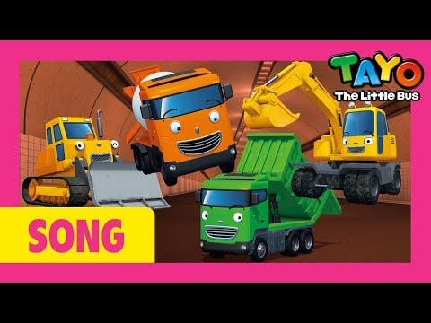 Tayo The Strong Heavy Vehicles Music Video L Tayo's Sing Along Show 1 L Tayo The Little Bus