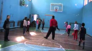 урок физической культуры с элементами баскетбола