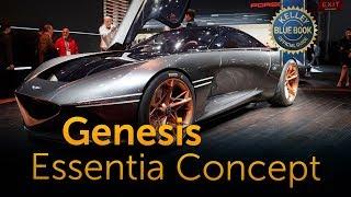 Genesis Essentia Concept - 2018 New York Auto Show