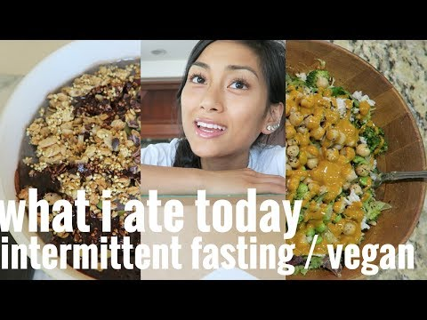 ✩ WHAT I ATE TODAY✩ // INTERMITTENT FASTING