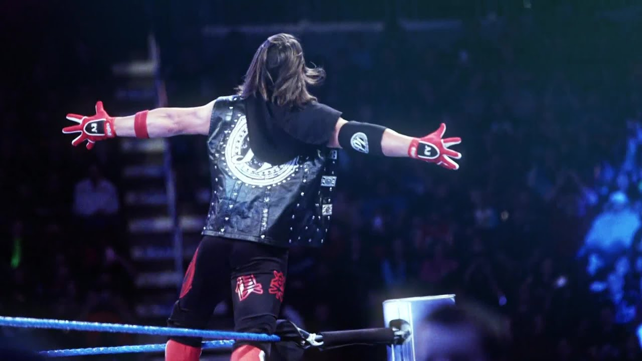 AJ Styles battles Shinsuke Nakamura in a dream match at WrestleMania ... 9da87c2170