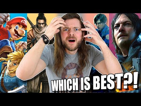 It's IMPOSSIBLE To Guess The BEST Game Of The Year.