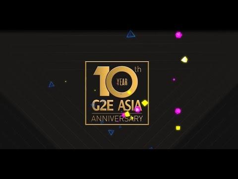 G2E Asia 2016 Highlights Video