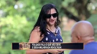 Pegadinha Toninho tornado folgado fala oque não deve
