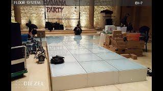 유리바닥, 조립식바닥, 전시부스바닥, 이동식유리바닥, …