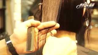 Как стричь БОБ на тонких волосах  Секрет точных и четких линий - Шапочка
