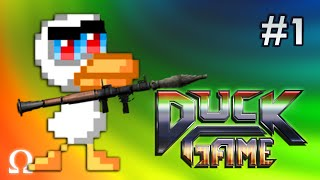 EAT A BAG OF DUCKS YOU DAMN DIRTY QUACKS! | Duck Game #1 (With Friends)
