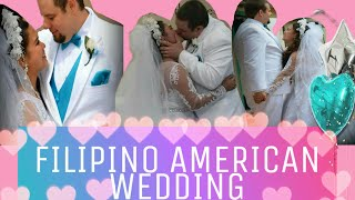 Simple American-Filipino Wedding