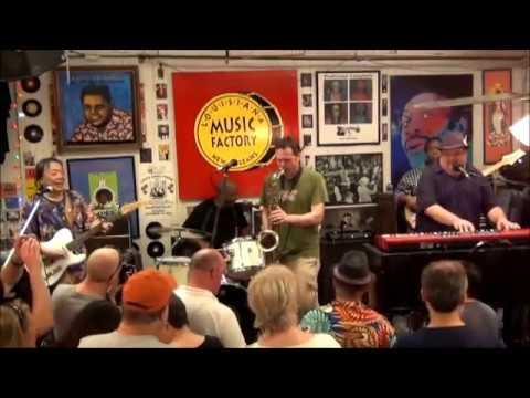 Papa Grows Funk @ Louisiana Music Factory JazzFest 2012 - PT 2