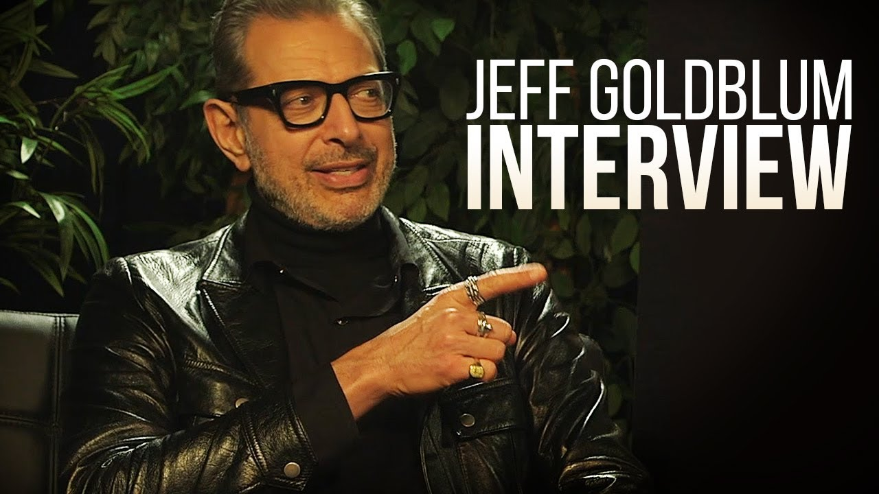 My Interview With Jeff Goldblum!