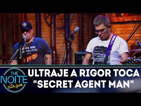 Ultraje a Rigor toca Secret agent man| The Noite (10/04/18)
