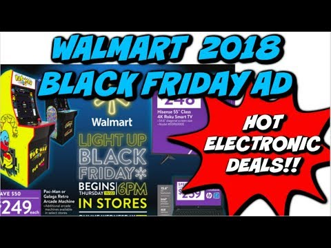 2018 WALMART BLACK FRIDAY AD | HOT ELECTRONICS, TOYS & MORE!