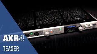 A New Standard in Audio Interfaces | New AXR4U USB 3 0 Audio Interface
