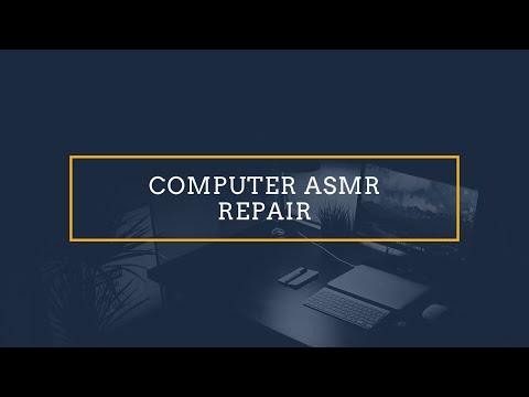 Binaural ASMR Laptop Repair shop Role Play
