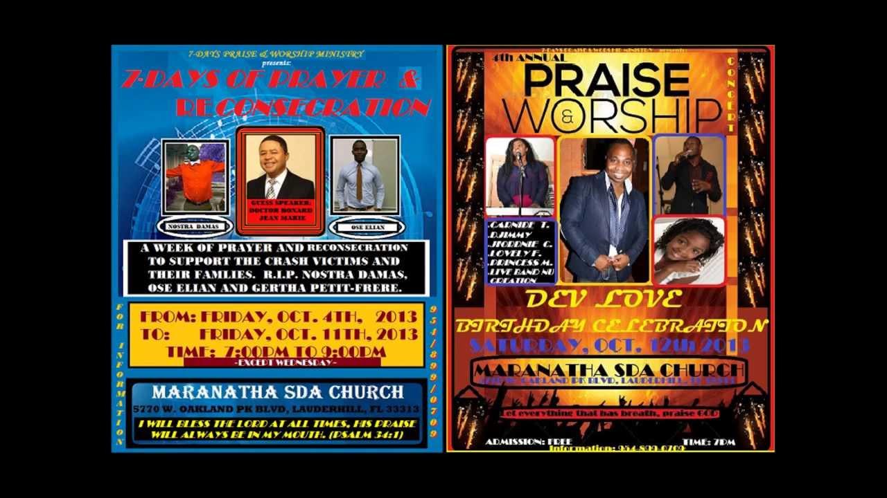 praise worship program concert at maranatha sda church praise worship program concert 10 12 13 at maranatha sda church