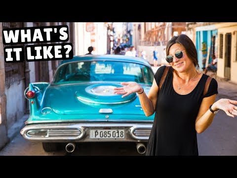 First Impressions Of CUBA! Exploring Havana With A Local