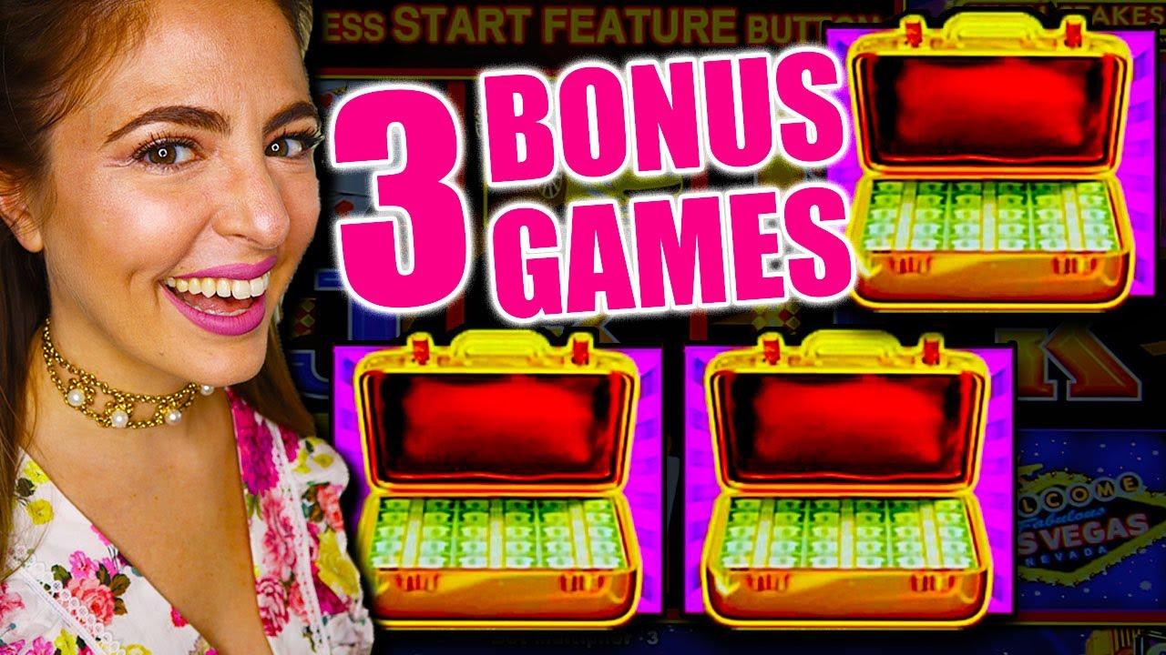 Download 3 BONUS GAMES LANDS ME A JACKPOT HANDPAY ON HIGH LIMIT LIGHTNING LINK!