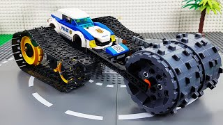 LEGO Experimental Police Cars and Fire Truck, Concrete Mixer Truck Transforming Cars For Kids