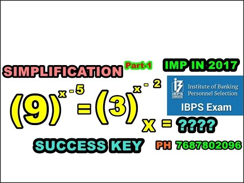FAST Track SIMPLIFICATION for 100 % Working IBPS PO PREPARATION