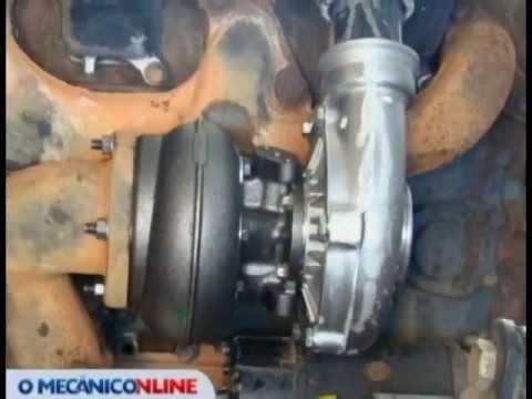 Manutenção do turbo no MB OM 366