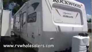 2011 Rockwood Signature Ultra Lite 8315BSS Travel Trailer Camper at RVWholesalers.com 835806