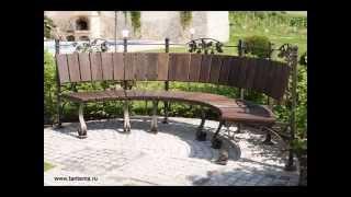 Кованая мебель, кровати, стулья, столы, фото. Тантьема(, 2014-04-03T08:56:55.000Z)