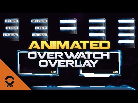 Animated Overwatch Overlay for OBS, Twitch and More - Nerd
