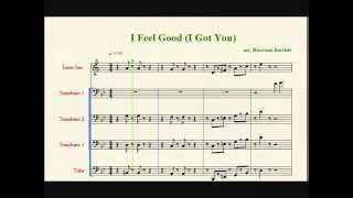 I Got You (I Feel Good) Low Brass/Low Winds Sheet Music