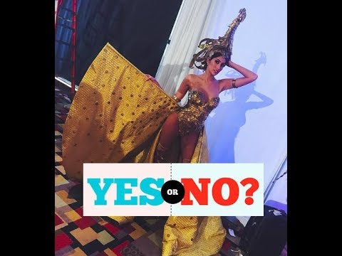 YES OR NO!!! Philippines - National Costume Miss Universe 2017.