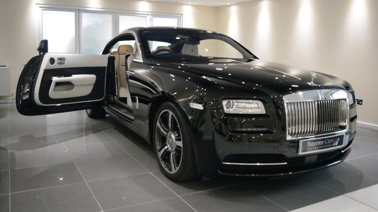 Luxury At Its Finest Diamond Black Rolls Royce Wraith Baytree Cars