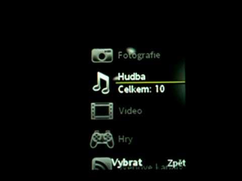Sony Ericsson Yari: prostředí