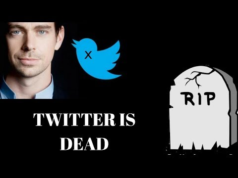 CEO Jack Dorsey Confirms Twitter Is Now Dead