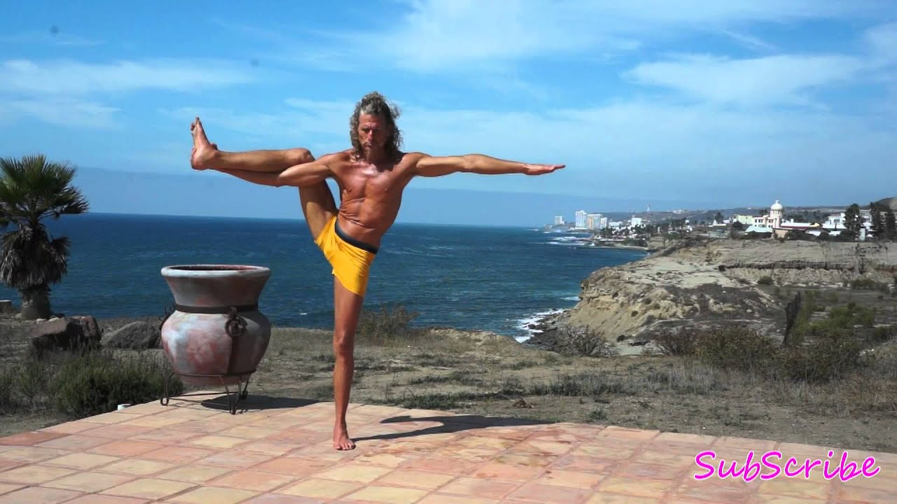 Caveman Yoga : Yoga in mexico w yogi tarzen youtube