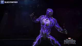 Marvel Future Fight: Black Panther Legendary Suit Tier 2 Vs Thanos