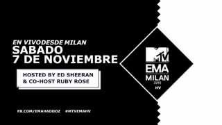 2015 MTV HV EMA Official Promo Ed Sheeran and Ruby Rose