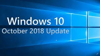 Windows 10 October 2018 update might show up tomorrow Patch Tuesday November 13th 2018