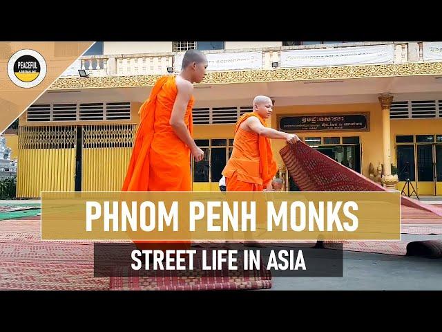 STREET LIFE #7 Phnom Penh / Cambodia / Makha Bucha / Magha Puja / Preparations / 08.02.2020