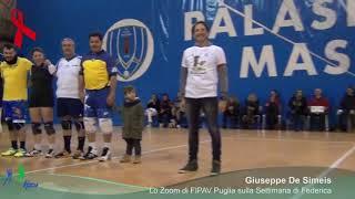 24-11-2017: #ilvolleyperfedericaeandrea - Gli arbitri pugliesi ricordano Federica e Andrea