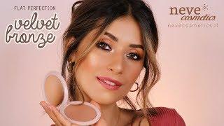 BRONZY makeup tutorial - Neve Cosmetics
